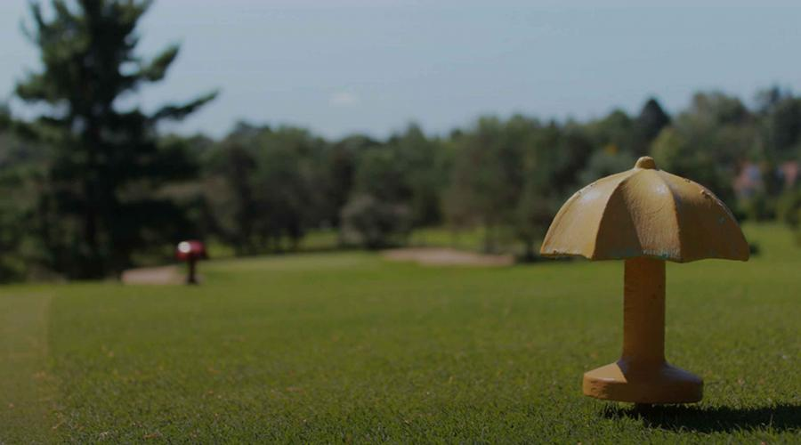 Course with Umbrella